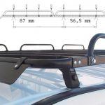 Bagażnik samochodowy dachowy do Fiat Doblo '10 - L1H1 / montaż Olsztyn
