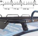 Bagażnik samochodowy dachowy / platforma do Mercedes Sprinter \'06- wersja średnio przedłużona
