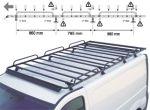 Bagażnik samochodowy do Opel Vivaro wersja przedłużona platforma / wysyłka Opole