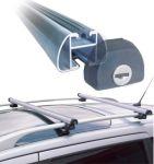 CRUZ Aluminiowy bagażnik na reling z zamkami